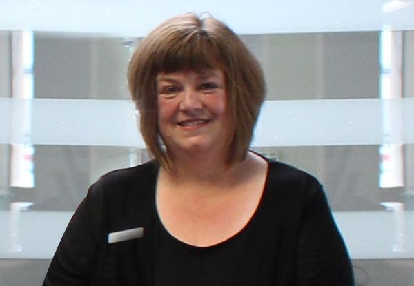 Glenys Edwards Gore's Reception Team Leader